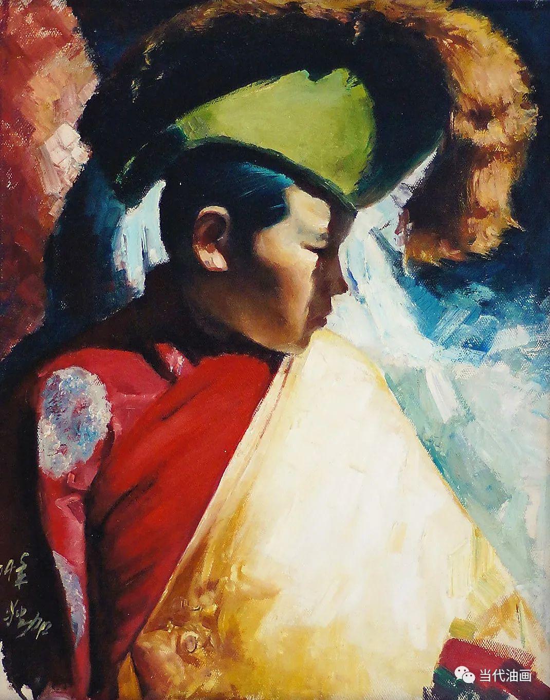 源流:当代绘画展作品欣赏之 | 张狄加插图19