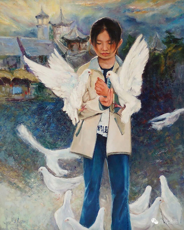 源流:当代绘画展作品欣赏之 | 张狄加插图23
