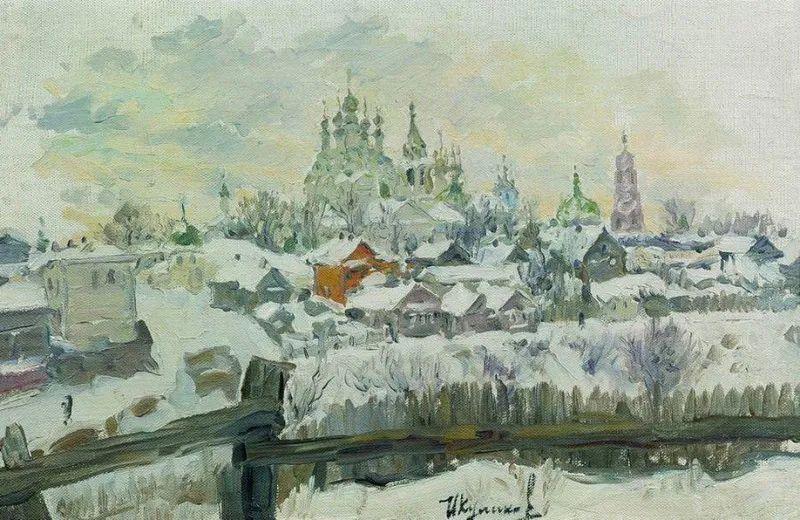 俄罗斯肖像和风俗画家——伊万·库里科夫,曾协助列宾完成巨作插图11