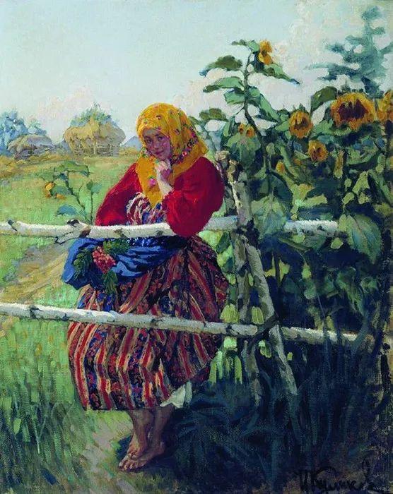 俄罗斯肖像和风俗画家——伊万·库里科夫,曾协助列宾完成巨作插图25