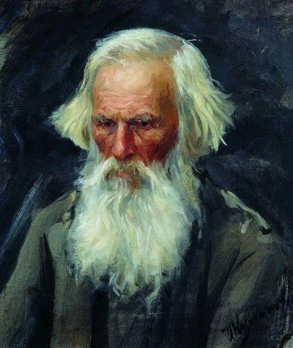 俄罗斯肖像和风俗画家——伊万·库里科夫,曾协助列宾完成巨作插图35