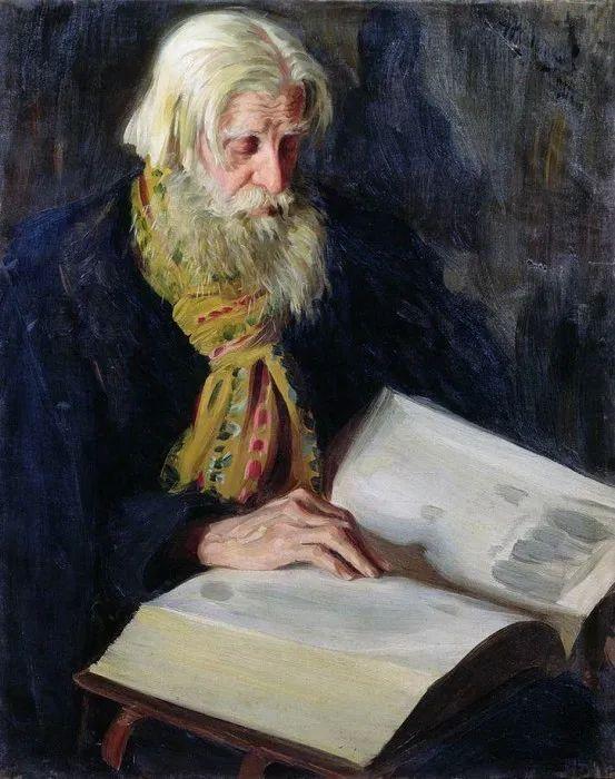俄罗斯肖像和风俗画家——伊万·库里科夫,曾协助列宾完成巨作插图37