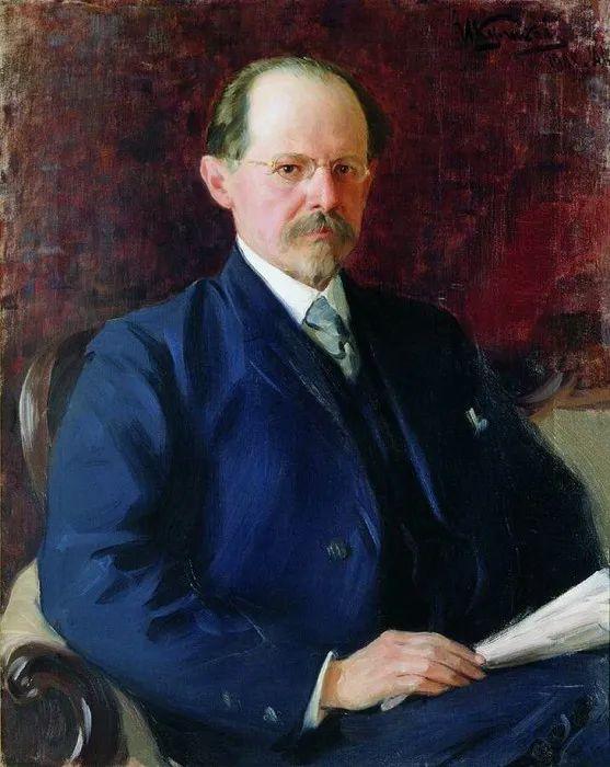 俄罗斯肖像和风俗画家——伊万·库里科夫,曾协助列宾完成巨作插图47
