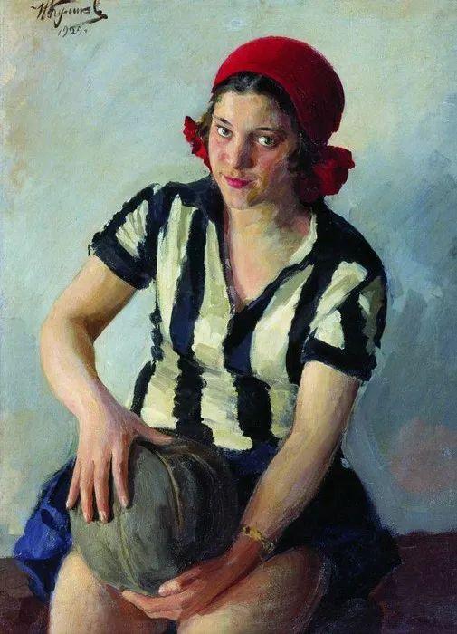 俄罗斯肖像和风俗画家——伊万·库里科夫,曾协助列宾完成巨作插图59