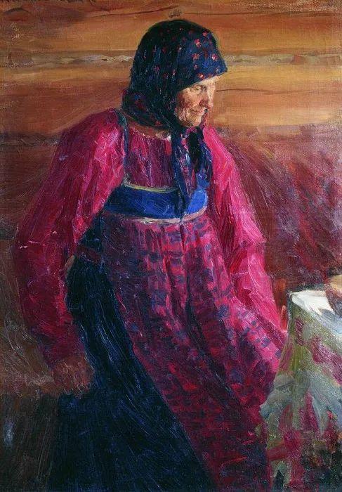 俄罗斯肖像和风俗画家——伊万·库里科夫,曾协助列宾完成巨作插图65