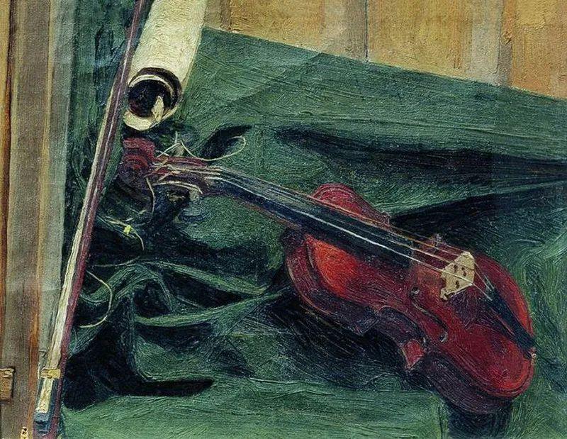 俄罗斯肖像和风俗画家——伊万·库里科夫,曾协助列宾完成巨作插图75
