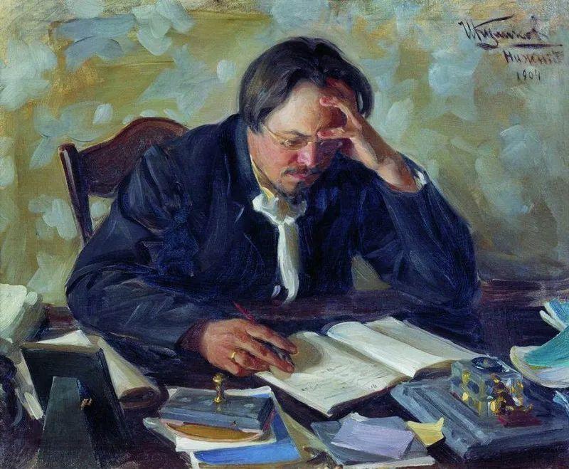 俄罗斯肖像和风俗画家——伊万·库里科夫,曾协助列宾完成巨作插图91