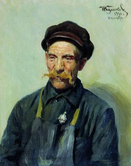 俄罗斯肖像和风俗画家——伊万·库里科夫,曾协助列宾完成巨作插图93