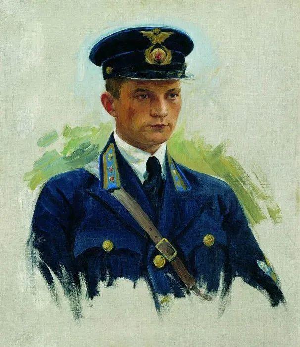俄罗斯肖像和风俗画家——伊万·库里科夫,曾协助列宾完成巨作插图95