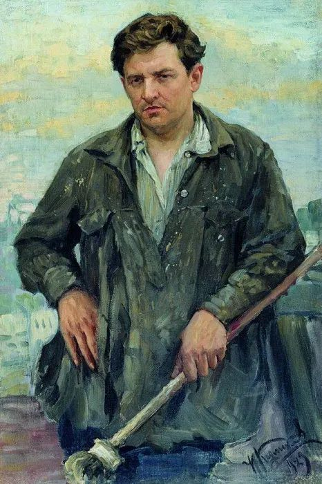 俄罗斯肖像和风俗画家——伊万·库里科夫,曾协助列宾完成巨作插图97