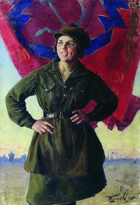 俄罗斯肖像和风俗画家——伊万·库里科夫,曾协助列宾完成巨作插图99