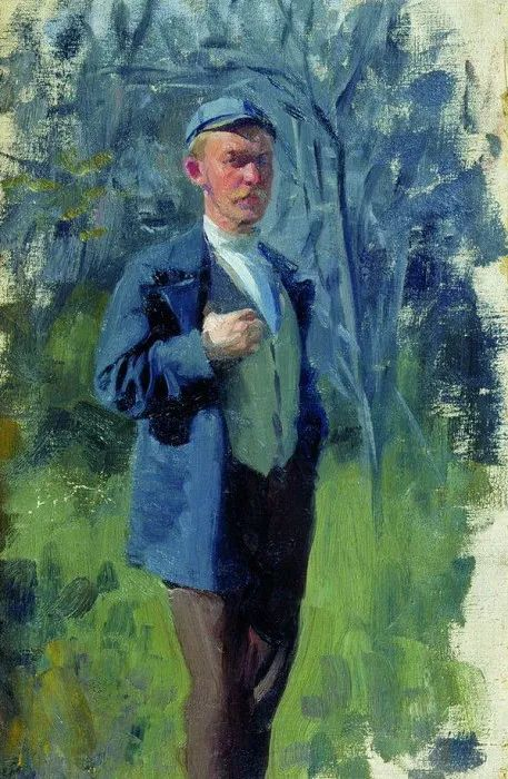 俄罗斯肖像和风俗画家——伊万·库里科夫,曾协助列宾完成巨作插图103