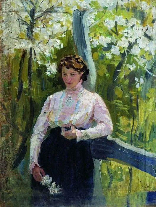 俄罗斯肖像和风俗画家——伊万·库里科夫,曾协助列宾完成巨作插图111