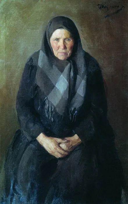 俄罗斯肖像和风俗画家——伊万·库里科夫,曾协助列宾完成巨作插图121