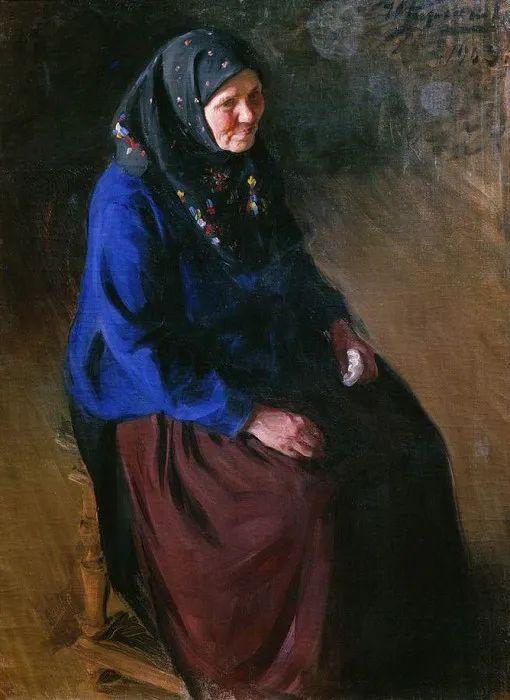 俄罗斯肖像和风俗画家——伊万·库里科夫,曾协助列宾完成巨作插图133