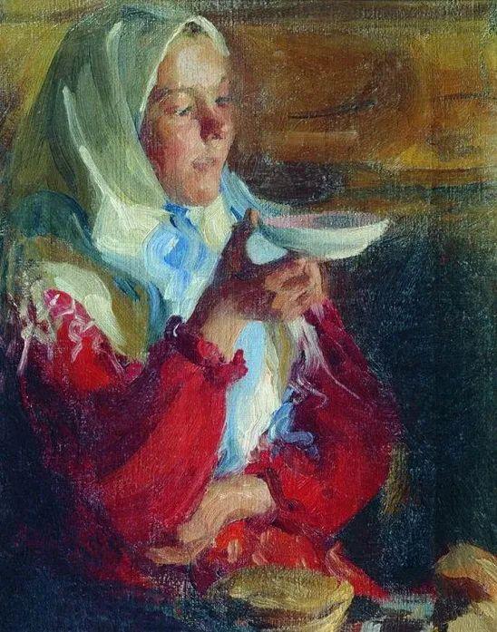 俄罗斯肖像和风俗画家——伊万·库里科夫,曾协助列宾完成巨作插图137