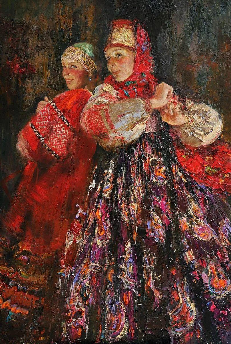安娜人物肖像作品,浓浓的俄罗斯油画风韵!插图11