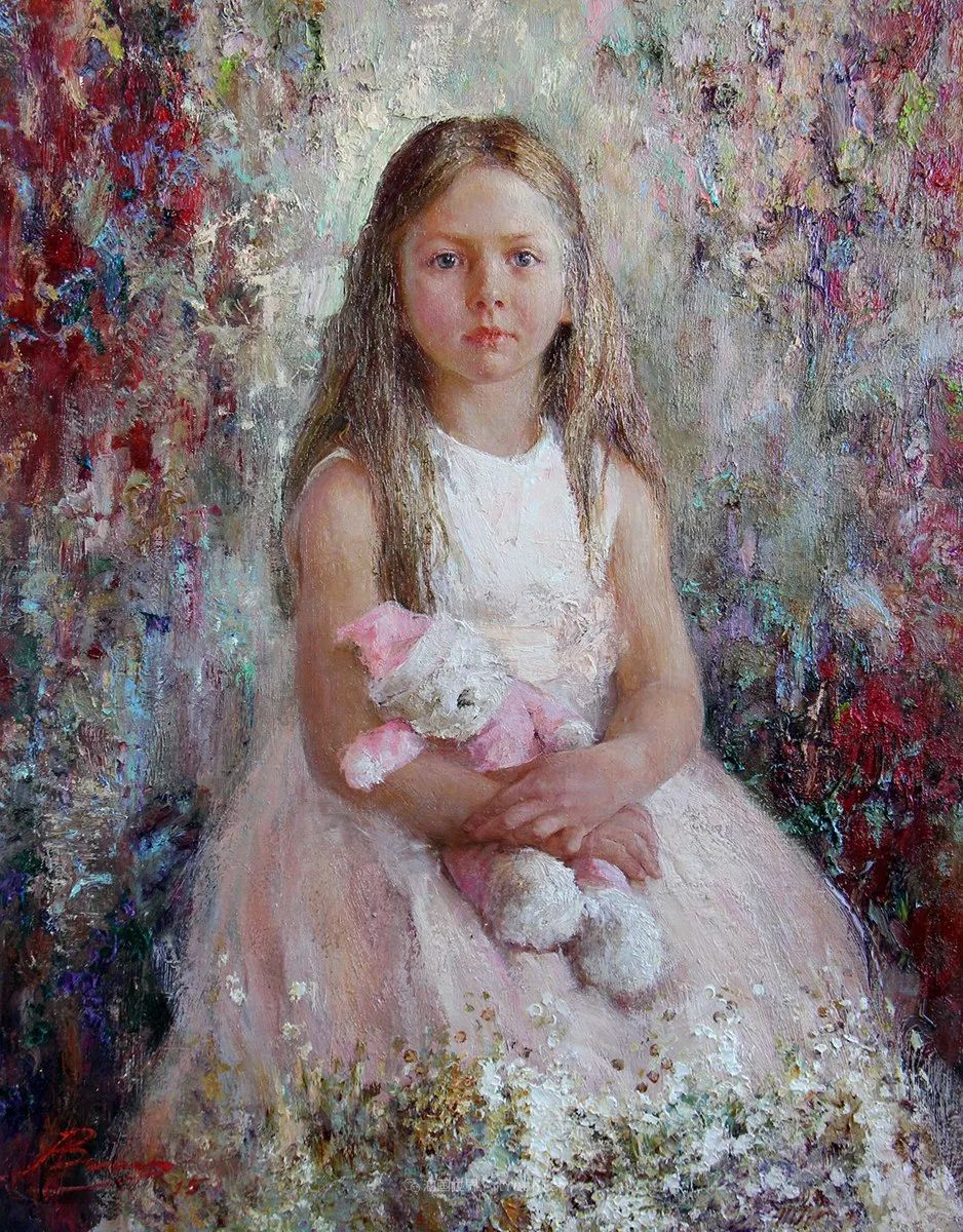 安娜人物肖像作品,浓浓的俄罗斯油画风韵!插图19