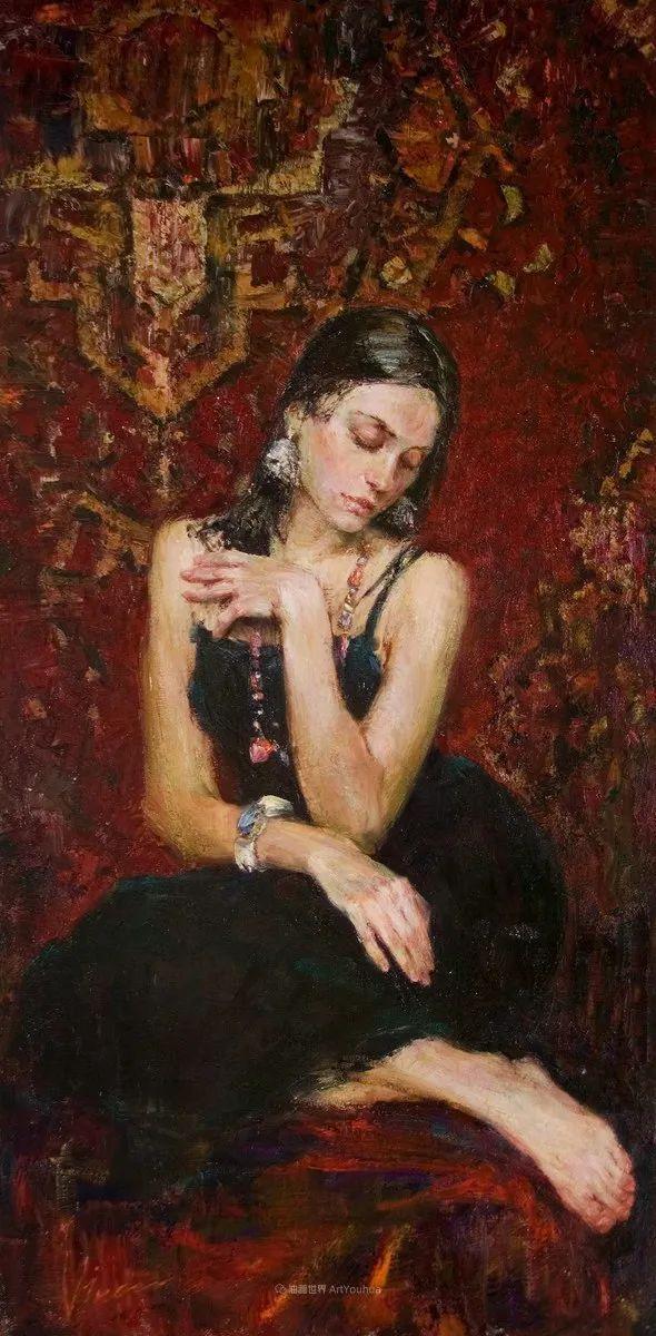 安娜人物肖像作品,浓浓的俄罗斯油画风韵!插图21