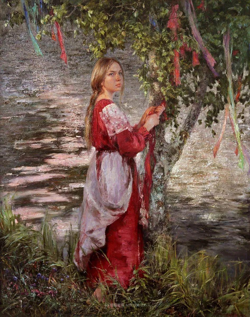 安娜人物肖像作品,浓浓的俄罗斯油画风韵!插图25