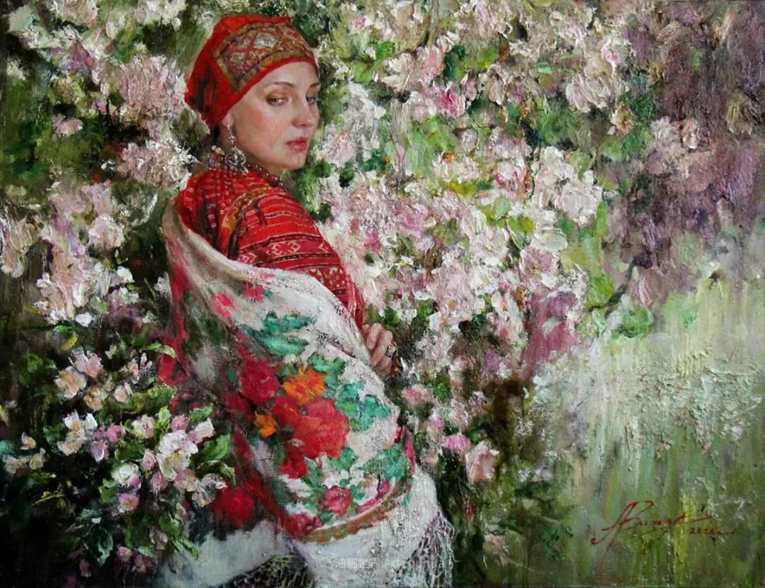 安娜人物肖像作品,浓浓的俄罗斯油画风韵!插图33