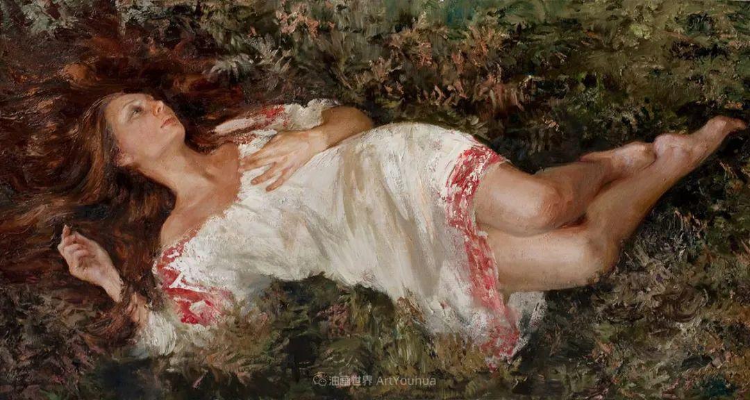 安娜人物肖像作品,浓浓的俄罗斯油画风韵!插图47