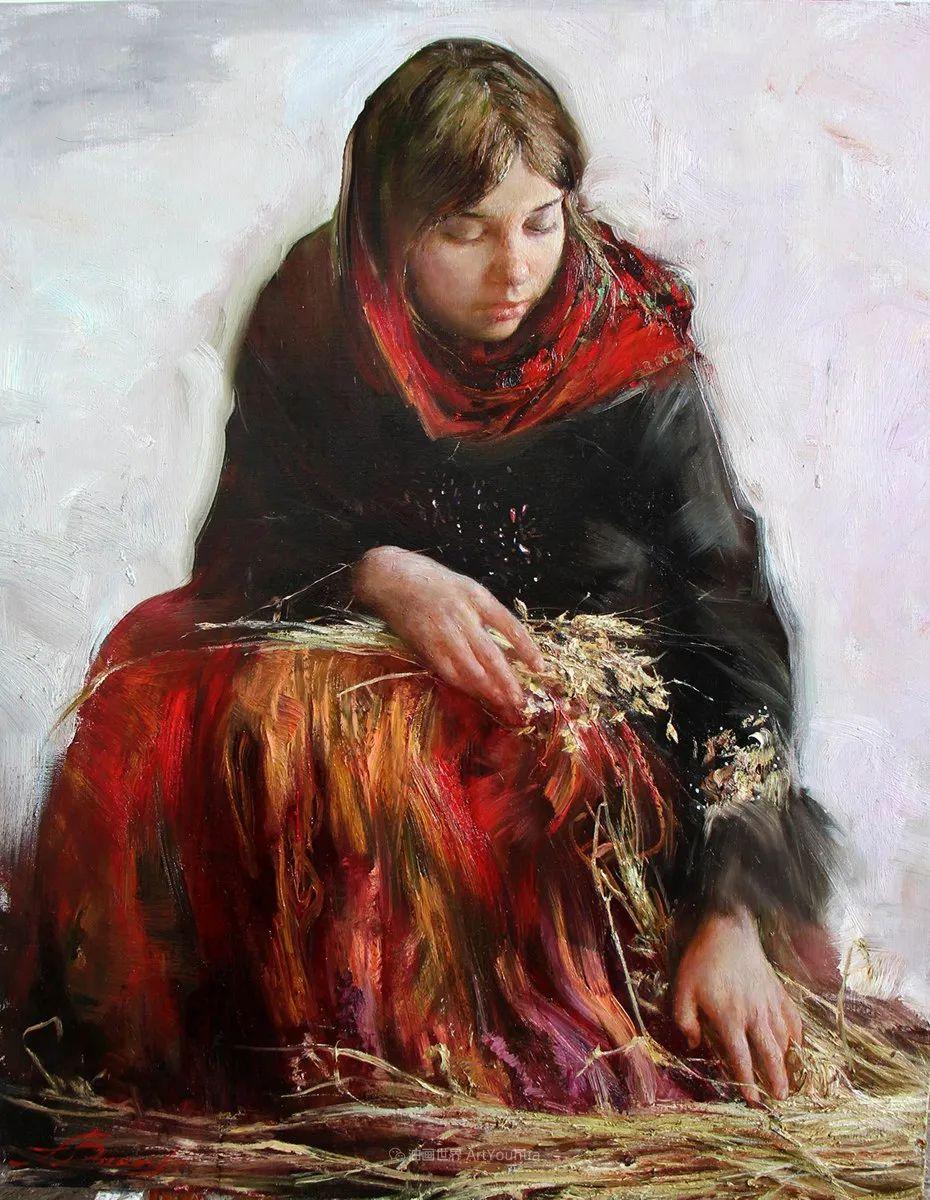 安娜人物肖像作品,浓浓的俄罗斯油画风韵!插图53
