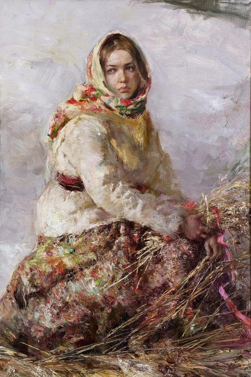 安娜人物肖像作品,浓浓的俄罗斯油画风韵!插图55