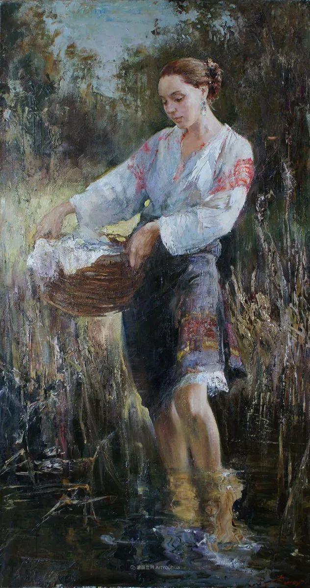 安娜人物肖像作品,浓浓的俄罗斯油画风韵!插图61