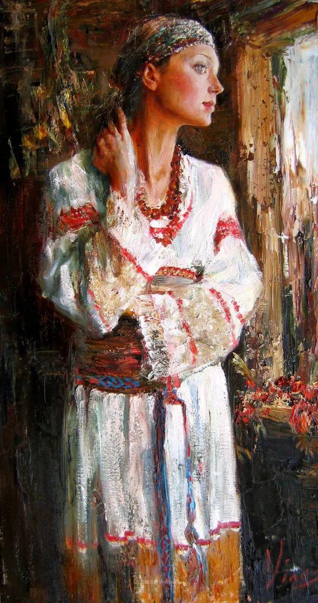 安娜人物肖像作品,浓浓的俄罗斯油画风韵!插图67
