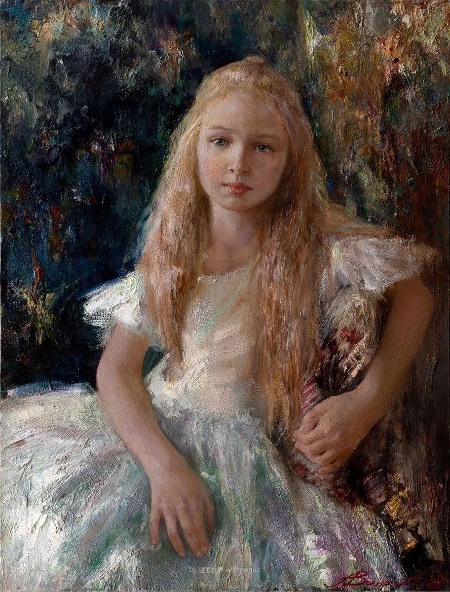 安娜人物肖像作品,浓浓的俄罗斯油画风韵!插图75
