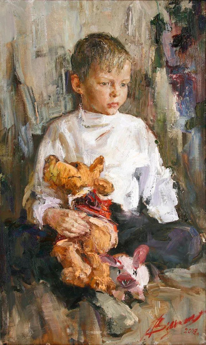 安娜人物肖像作品,浓浓的俄罗斯油画风韵!插图79