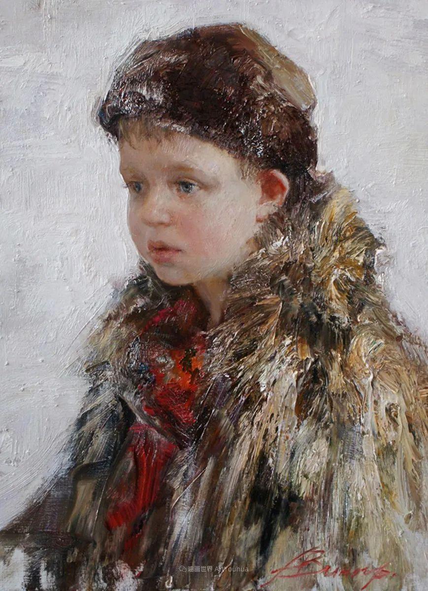 安娜人物肖像作品,浓浓的俄罗斯油画风韵!插图91