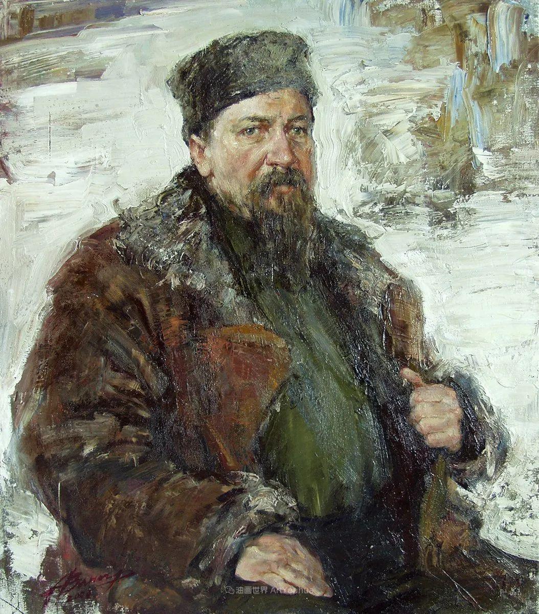 安娜人物肖像作品,浓浓的俄罗斯油画风韵!插图97