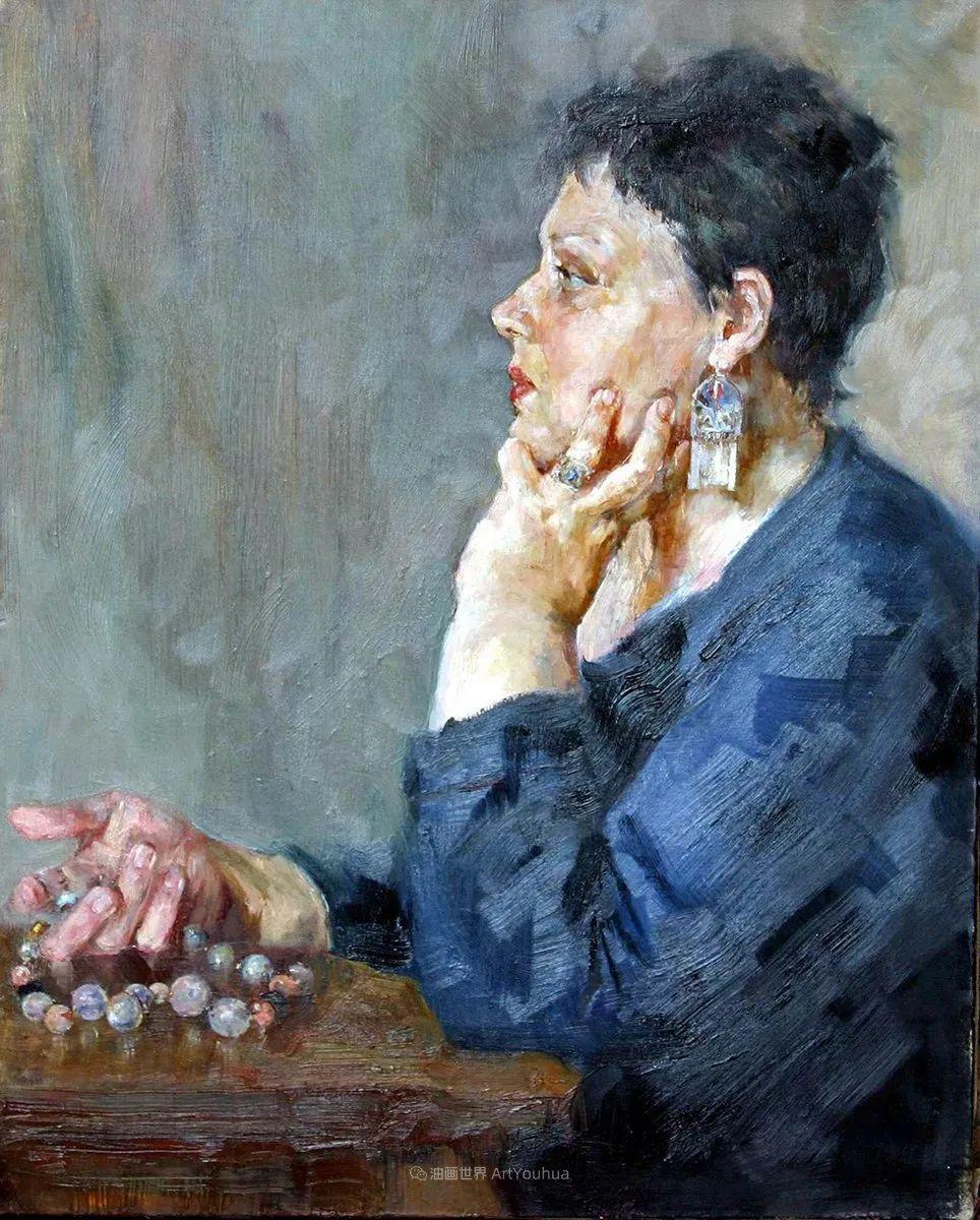 安娜人物肖像作品,浓浓的俄罗斯油画风韵!插图103