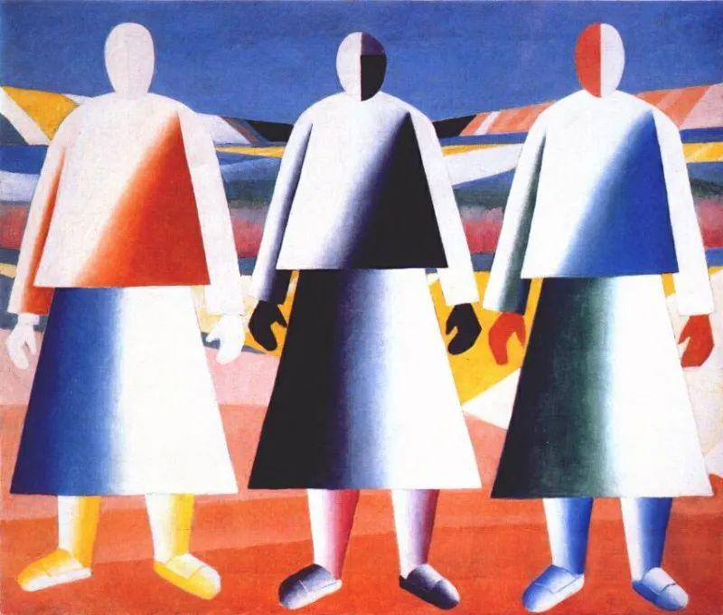 伟大的俄罗斯先锋派艺术家,卡齐米尔·马列维奇插图17