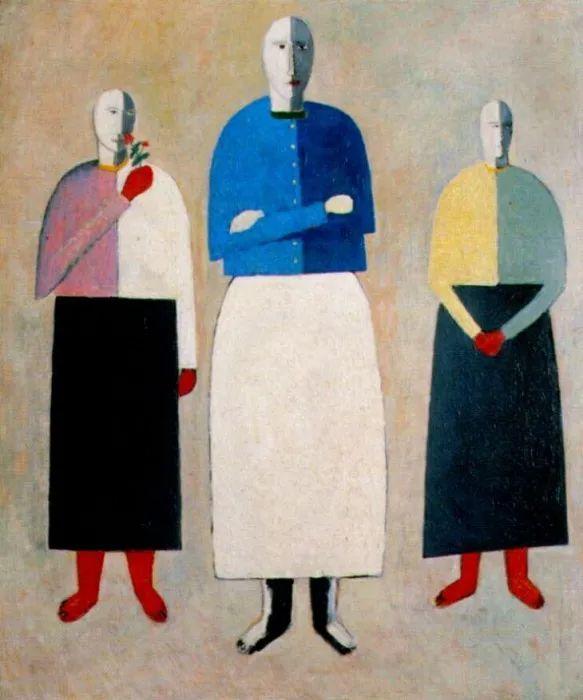 伟大的俄罗斯先锋派艺术家,卡齐米尔·马列维奇插图112