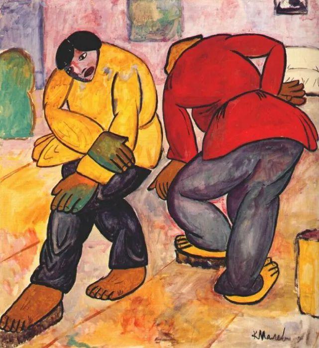 伟大的俄罗斯先锋派艺术家,卡齐米尔·马列维奇插图130