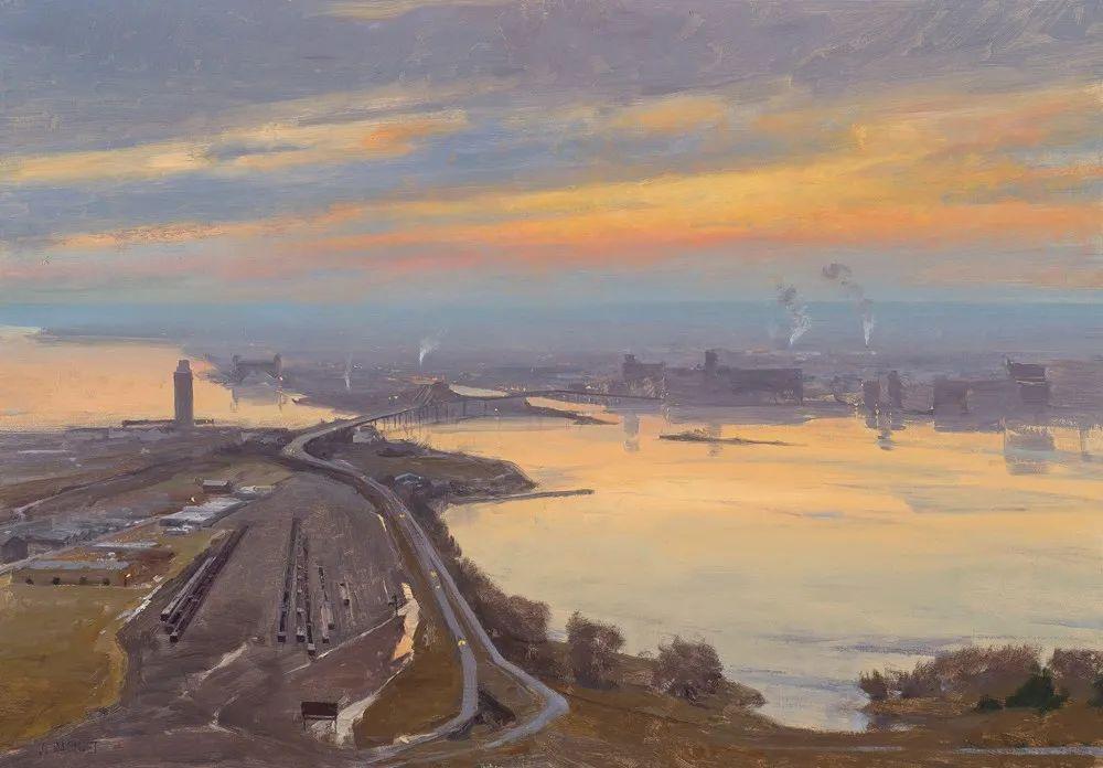 40位画家的61幅Plein Air风景绘画插图3