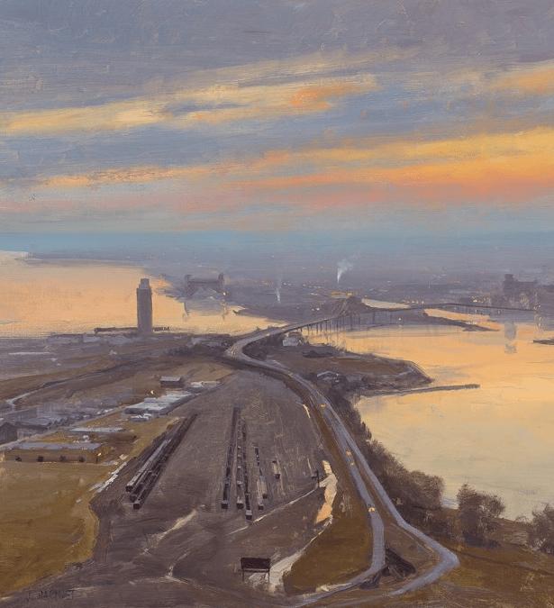 40位画家的61幅Plein Air风景绘画插图5