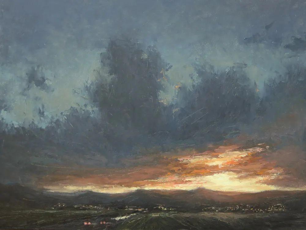 40位画家的61幅Plein Air风景绘画插图71