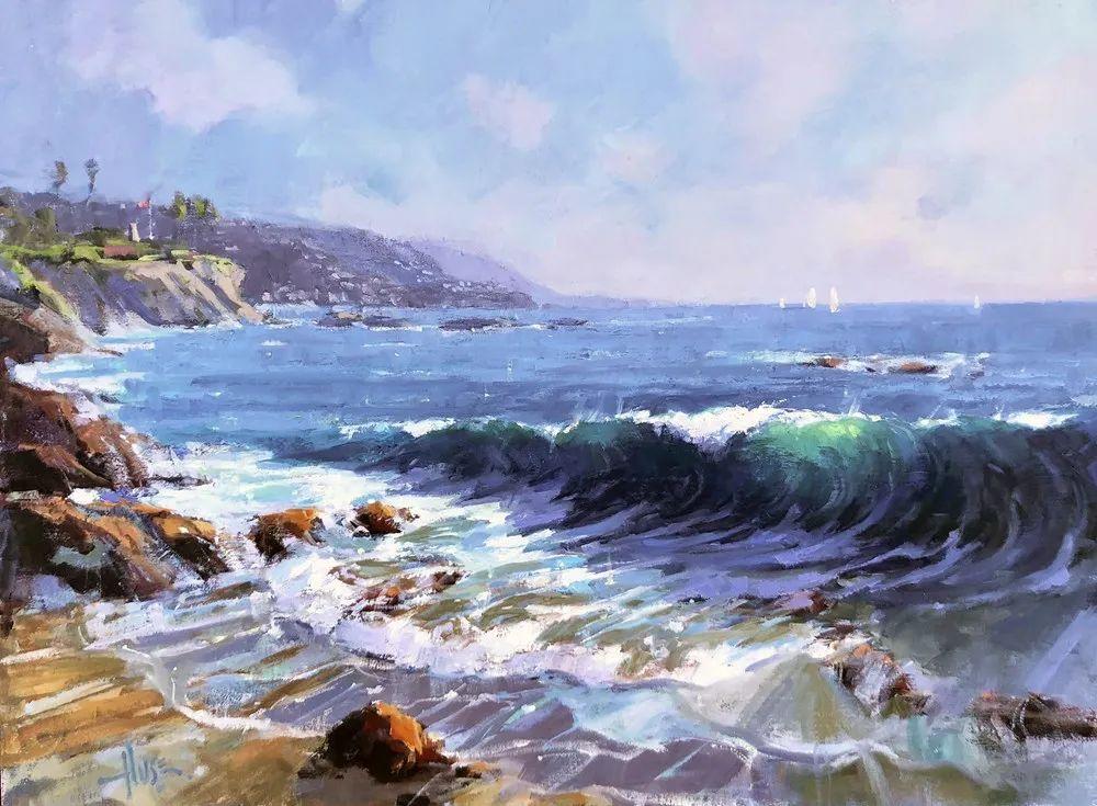 40位画家的61幅Plein Air风景绘画插图75