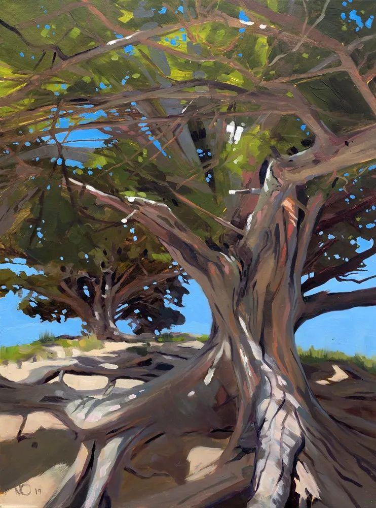 40位画家的61幅Plein Air风景绘画插图89