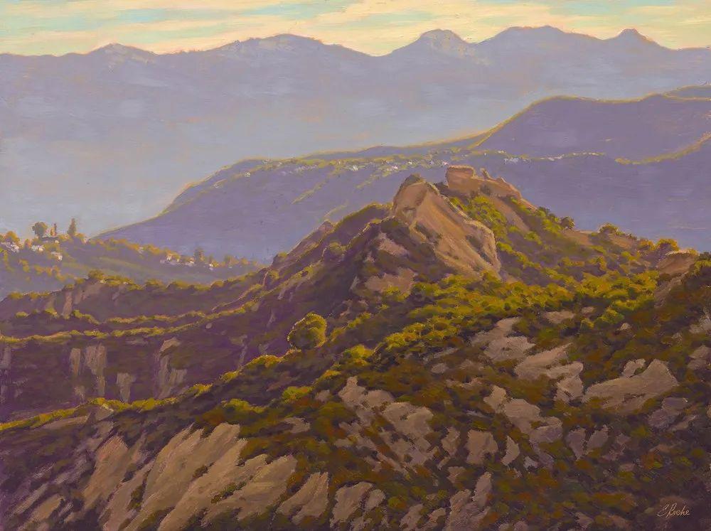 40位画家的61幅Plein Air风景绘画插图107