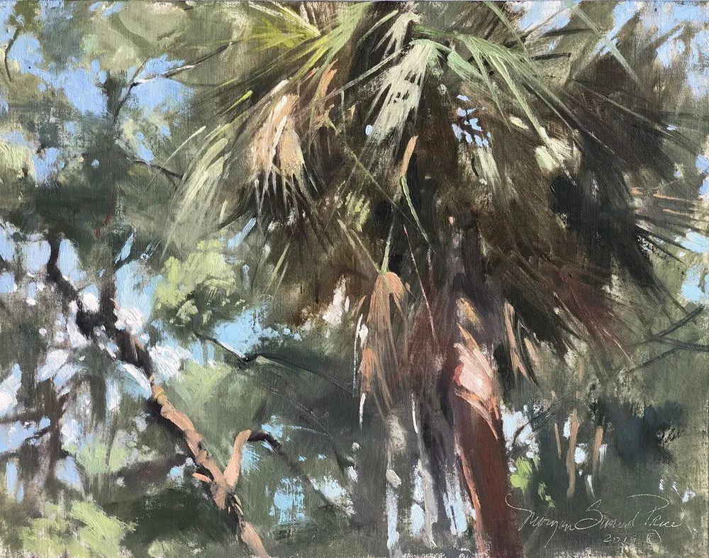 40位画家的61幅Plein Air风景绘画插图117