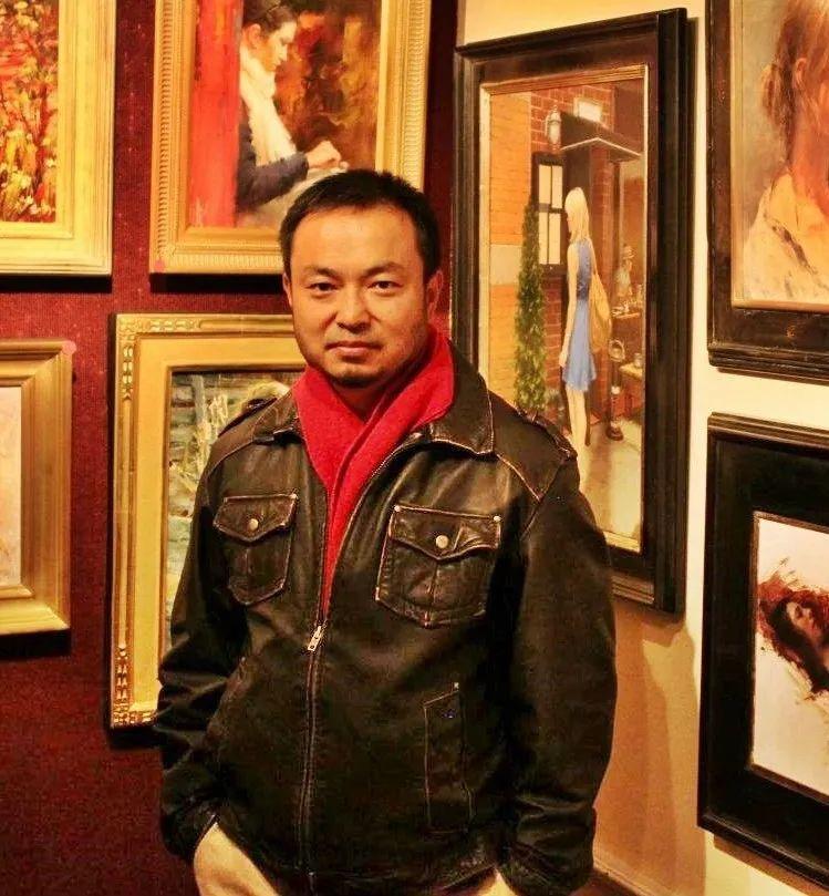 旧金山艺术学院研究生导师,刘方伟肖像油画欣赏插图13