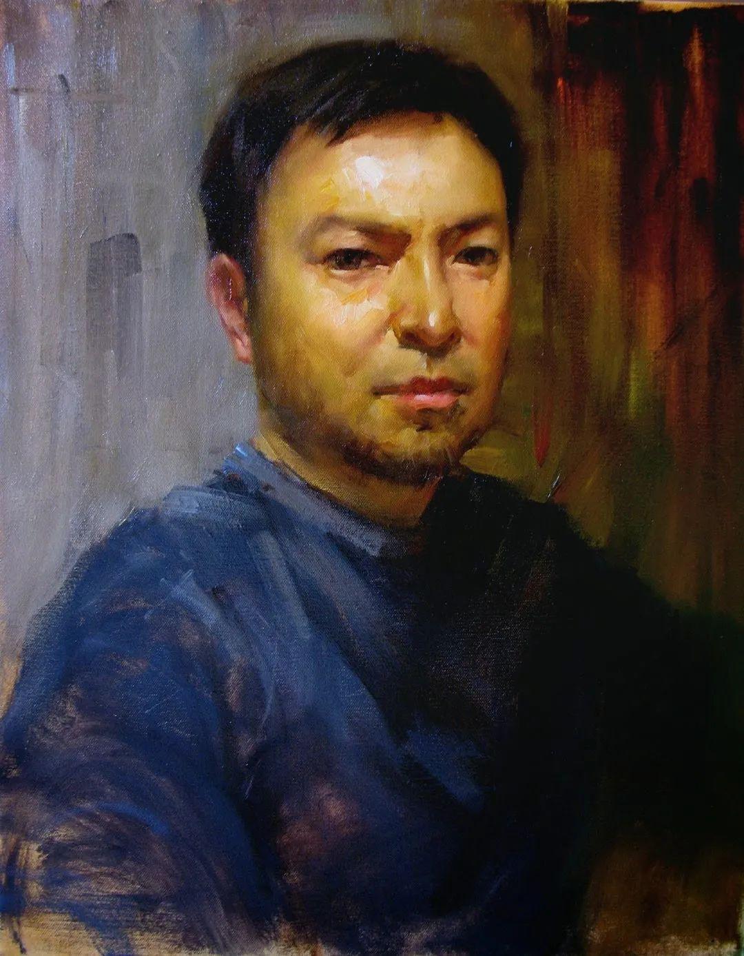 旧金山艺术学院研究生导师,刘方伟肖像油画欣赏插图37