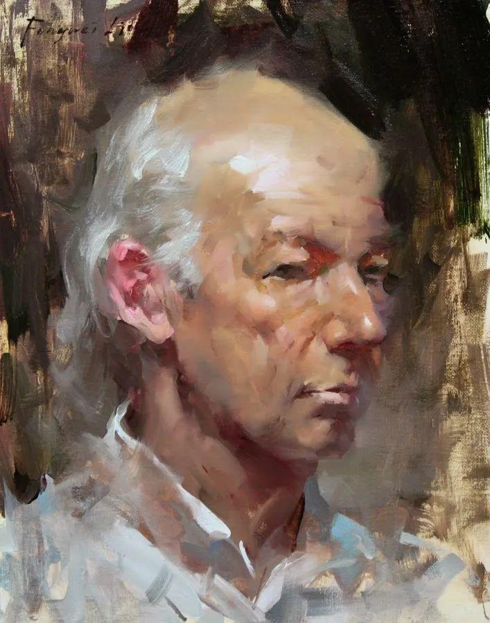 旧金山艺术学院研究生导师,刘方伟肖像油画欣赏插图79