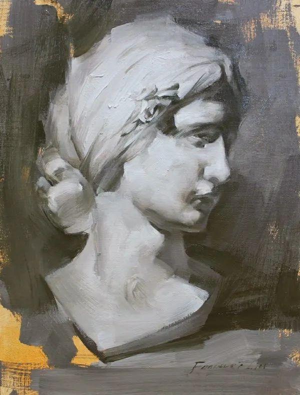 旧金山艺术学院研究生导师,刘方伟肖像油画欣赏插图117
