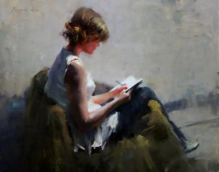 旧金山艺术学院研究生导师,刘方伟肖像油画欣赏插图119